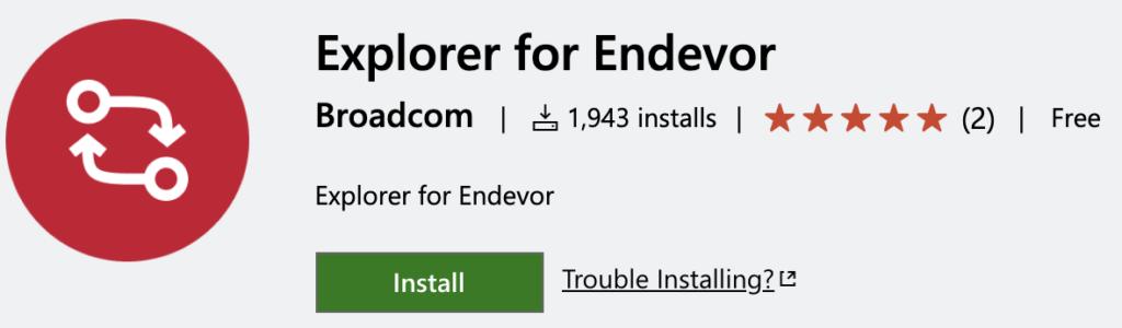 Explorer for Endevor DevOps Tool