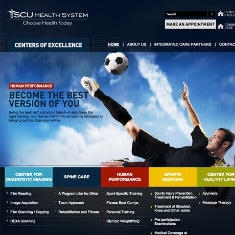 SCU Health Sciences SEO Marketing